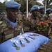 MINUSMA Honours Fallen Burkinabè Peacekeepers