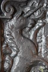 Leicester's Gatehouse (richardr) Tags: old uk greatbritain england english heritage history metal fireplace europe european unitedkingdom britain historic british unicorn mythology europeanunion warwickshire myth kenilworth midlands gatehouse englishheritage themidlands fireguard