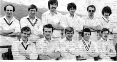 """Steeton 1st XI 1982 • <a style=""""font-size:0.8em;"""" href=""""http://www.flickr.com/photos/47246869@N03/19661799946/"""" target=""""_blank"""">View on Flickr</a>"""
