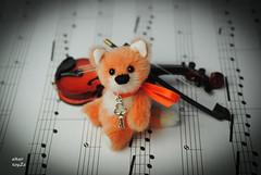 mrFox02 (Zhanna Zolotina) Tags: bear miniature teddy handmade mini fox altair toyzz