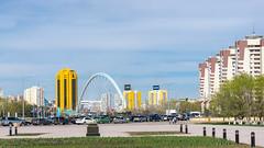 *** (Jonny CH) Tags: street city travel sky color art sony kazakhstan astana панорама город архитектура вид мост казахстан астана a6000
