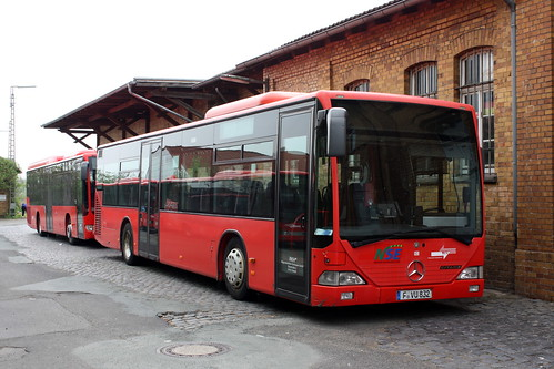 RKH: Mercedes-Benz Citaro F-VU 832 in Fritzlar am Bahnhof