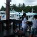 Kids at Pulau Ubin Jetty