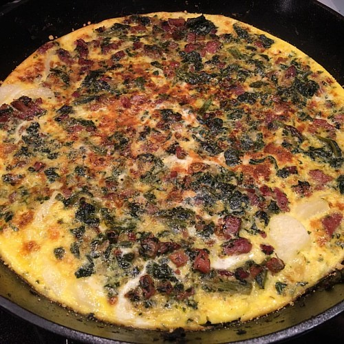 Frittatas are humble in appearance but so easy and delicious.#personalchef #cooking #healthyeating