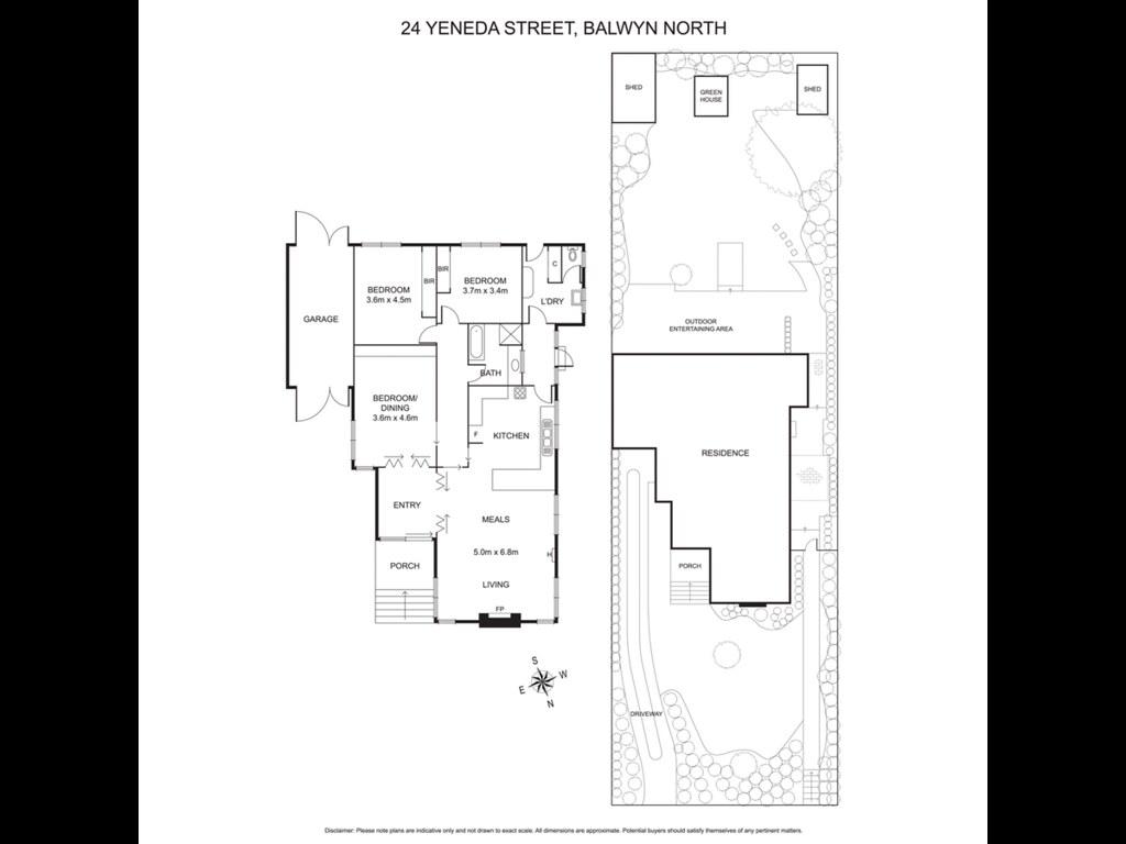 24 Yeneda Street floorplan