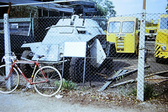 Imperial War Museum's SdKfz 221 or 222 armoured car. Duxford 1989 (Richard.Crockett 64) Tags: ww2 duxford 221 222 worldwartwo horch imperialwarmuseum militaryvehicle armoured wehrmacht armouredcar germanarmy sdkfz reconnaissance leichterpanzersphwagen