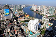 Chao Phrayer River AM (bennychun) Tags: river singapore asia bangkok