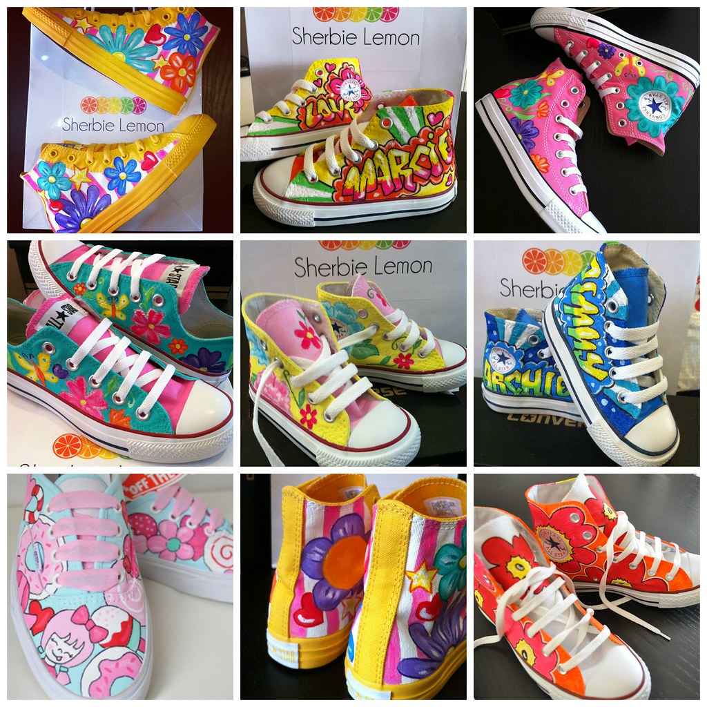 c57f837ec4e173 giveaway may (Sherbie lemon) Tags  shoes pumps hand boots painted converse  vans custom