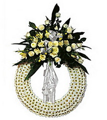 FTD Wreath Arrangement (dobdeals.com) Tags: flowers wreaths eventsupplies