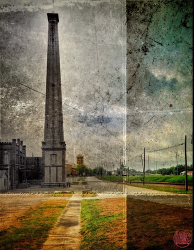 When a smokestack becomes a monument...