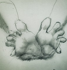 Pencil drawings (Massvision photography) Tags: feet toes pencildrawing