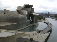 Guggenheim-Museum, Bilbao, Spain (KanakariFotos) Tags: germany spain bilbao dsseldorf frankogehry guggenheimmuseum medienhafen newzollhofbuildingb