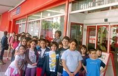 3 y 4 de EP a la puerta de la tienda (Ayuntamiento de Ermua  Ermuko Udala) Tags: colegio eroski  sanpelayo propuestas educacinprimaria