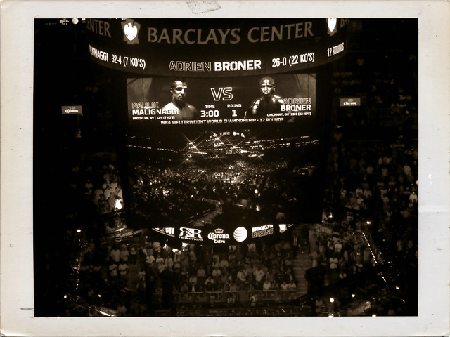 fight night in brooklyn