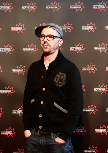 Charlie Creed-Miles at the Peaky Blinders photocall