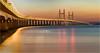 M4 Bridge Pano (Chris Beard - Images) Tags: bridge sunset seascape water landscape coast somerset severnbridge