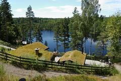 Kringlevannet cabin (mrpb27) Tags: norway norge nikon geocaching cache steephill vestfold andebu ramnes mrpb27 d40x 18200mmf3556gedifafsvrdx gcinfo kringlevannet gc2hnqk
