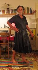 Denim and black knit. (Jack Williams) Tags: newzealand wet fun freestyle frolic dress auckland dresses wetlook meninfrocks frocks frolics menindresses mandress menstuff wetguy