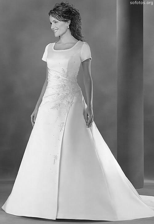 Vestidos de noivas com manguinha