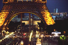 Paris (Meryl Mariano) Tags: street city travel paris france tower night french europe eiffel