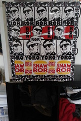 ROR Fridge (Hot Rod(R)) Tags: street art fridge kim stickers il covered ror jong combos slaps snaw stickerbomb