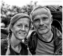 Travellers (Hkon Kjllmoen, Norway) Tags: travel people bw beautiful norway contrast rural big faces awesome lofoten travelers bod backpackers supershot 2013 visitnorway canoneos5dmarkiii 5dmkiii hkonkjllmoen wwwkjollmoencom ingunnogrune