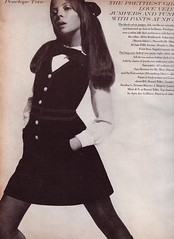 Vogue Aug 68 jumper (jsbuttons) Tags: fashion vintage clothing mod buttons clothes vogue button 1968