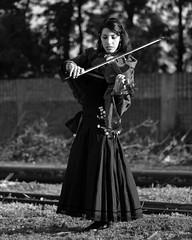 Viola Gitana (Morarok Nihonto) Tags: portraits retratos konicahexanon50mmf14 olympusomd