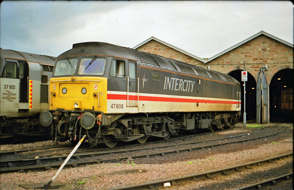 47808 Inverness (Roddy26042) Tags: inverness class47 47808