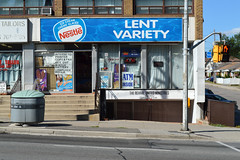 DSC_0707 v2 (collations) Tags: toronto ontario architecture documentary vernacular streetscapes builtenvironment cornerstores conveniencestores urbanfabric varietystores