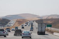 Cali (MaximeF) Tags: california road usa highway san francisco freeway windturbine