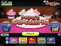 帕帕的杯子蛋糕店(Papa's Cupcakeria)