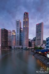 The Long Exposure Itch (Shutter wide shut) Tags: longexposure skyline buildings reflections singapore rafflesplace singaporeriver skyscapers northbridgeroad boattrails singhraylbwarmingpolarizer canoneos5dmarkiii canontse24mmf35lii leesoftndgradfilter lee12ndfilter canongpsreceivergpe2