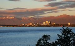 Sunset Anchorage Alaska (MarculescuEugenIancuD5200Alaska) Tags: sunset alaska day cloudy anchorage fleursetpaysages