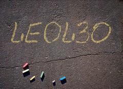 Chalk Writing - LEOL30 (Leo Reynolds) Tags: 0sec hpexif webthing photofunia xleol30x