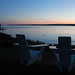 Sunset at Spruce Point Inn