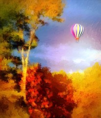 Fine Day For A Sail (Whimsy Dame) Tags: vermont balloon tmi ineffable number9dream vividimagination artforeveryone sharingart maxfudge awardtree crazygeniuses netartii covertartist autumn2013 uploaded:by=flickrmobile flickriosapp:filter=nofilter
