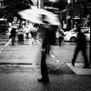 Waterfront Station (. Jianwei .) Tags: street city urban wet rain silhouette vancouver umbrella downtown mood candid waterfrontstation jianwei 雨伞 kemily