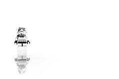 Stormtrooper (Suggsy69) Tags: bw white reflection monochrome contrast blackwhite starwars nikon stormtrooper d5200