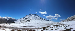 @ Rohtang Pass (VikramDeep) Tags: travel light india snow mountains nature clouds sunrise canon pass panoramas hdr himalayas himachalpradesh rohtang eos550d vision:mountain=0844