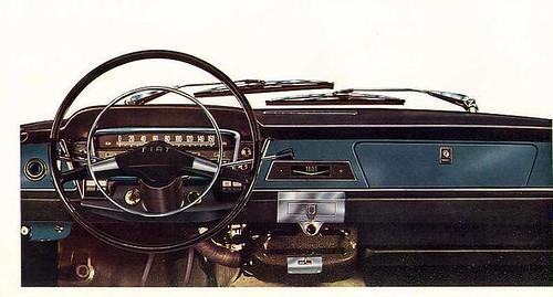 Fiat 1800B cruscotto