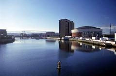 Belfast - East Bank: public art in the river