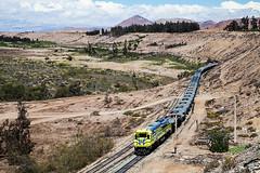 Semaphore (arcadia1969) Tags: chile tren desert trains ore ferrocarril freighttrain narrowguage emd metergauge ferronor gt46ace emddemonstrator