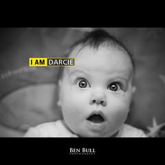 I AM DARCIE (Ben Bull Photography) Tags: bw baby 50mm am eyes nikon child shock 18 shocked darcie d700 benbullphoto