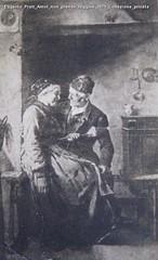 Eugenio Prati Amor non prende ruggine 1879 Collezione privata