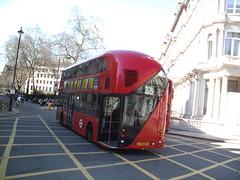 LT5, Victoria, London, 20/04/13 (aecregent) Tags: london rear victoria lt 38 arriva nb4l lt5 newroutemaster 200413 newbusforlondon borismaster lt12eht londonbuses2013 victoria2013