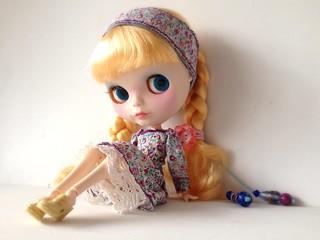 Custom blythe doll ice rune