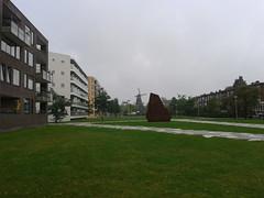 'Scherven' en molen. Funenpark Amsterdam; Bram Breedveld (2) (lasagnia) Tags: en amsterdam landscape design bram mooi molen inspiratie scherven breedveld funenpark