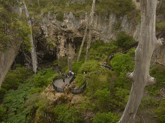 The doline from above  (blueachilles) Tags: australia crater wa cave margaretriver doline lakecave ditookthis
