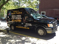 DanGelvi Cleaning Services Truck